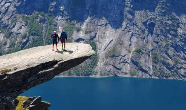 Hiking Trolltunga in Norway (The tongue of the Troll)