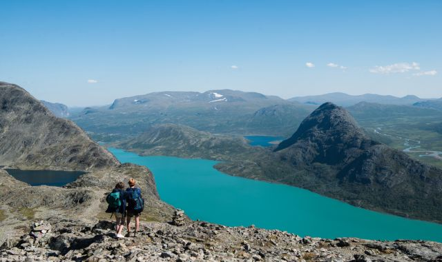 Hiking The Besseggen Ridge in Norway