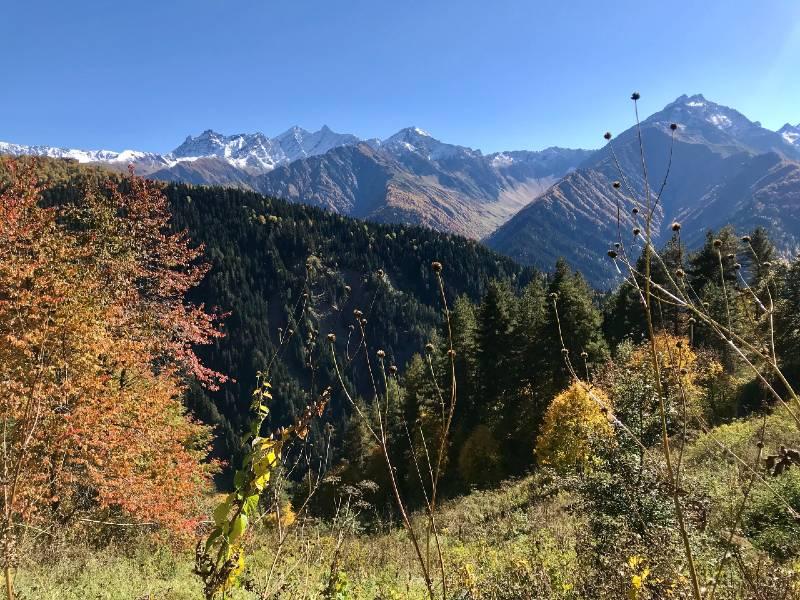 Mountains in Sakartvelo